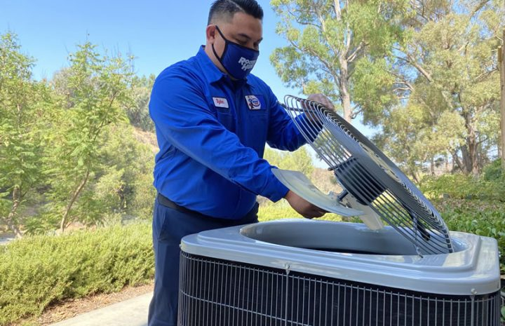 During A/C Installations